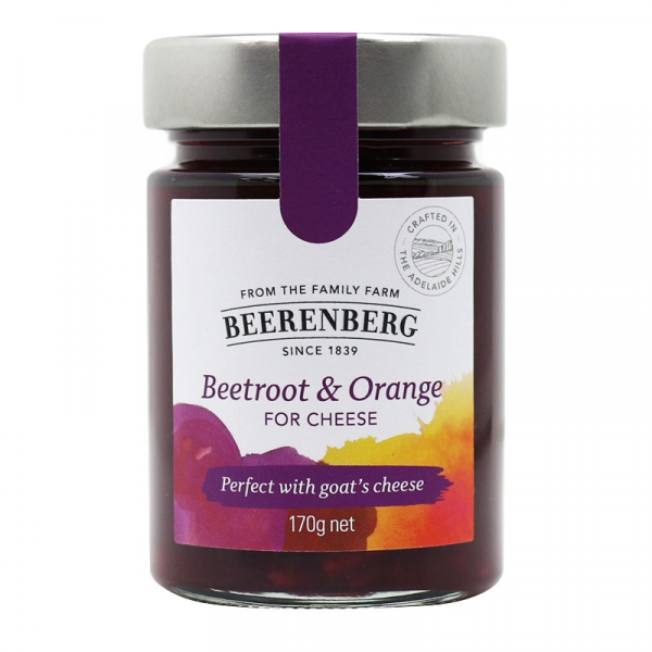 Beerenberg BEERENBERG BEETROOT & ORANGE FOR CHEESE 170G
