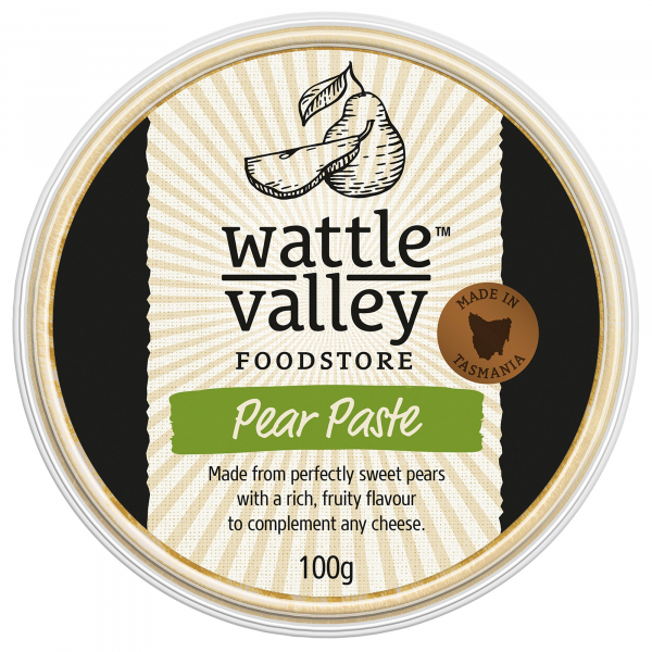 Wattle Valley WATTLE VALLEY PEAR PASTE 100G