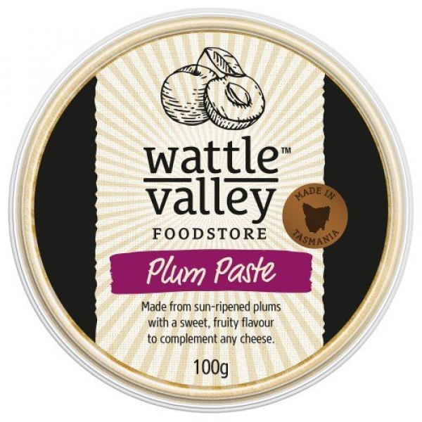 Wattle Valley WATTE VALLEY PLUM PASTE 100G