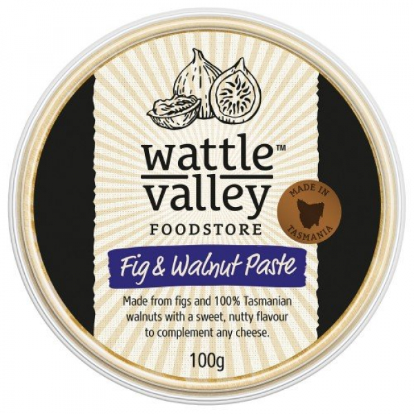 Wattle Valley WATTLE VALLEY FIG & WALNUT PASTE 100G