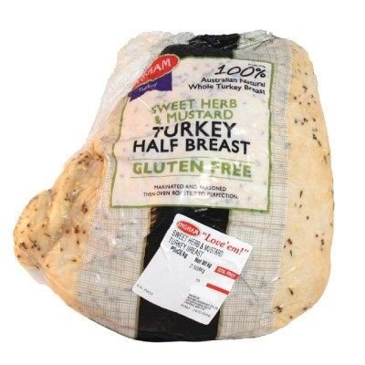 TURKEY BREAST SWEET HERB & MUSTARD