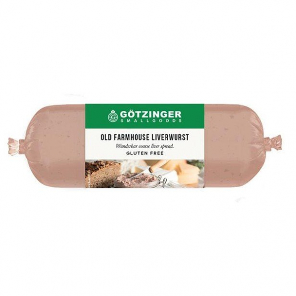 GOTZINGER FARMHOUSE LIVERWURST250G 09329937002095.