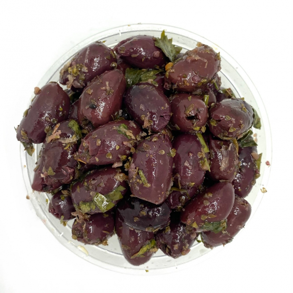 MARINATED PITTED KALAMATA