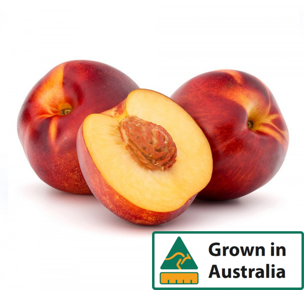NECTARINES YELLOW 1KG TRAY