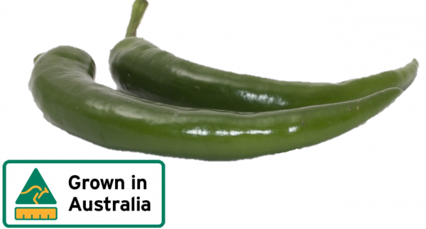 CHILLIES MILD GREEN KG