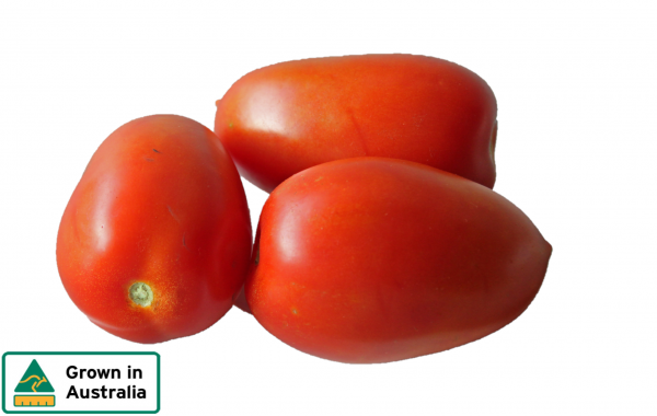 TOMATOES ROMA TRAY (approx 800g)