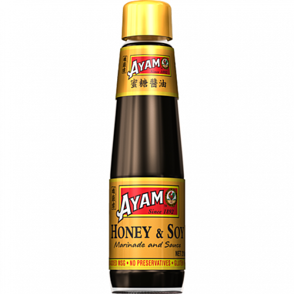 Ayam AYAM HONEY SOY MARINADE 210ML