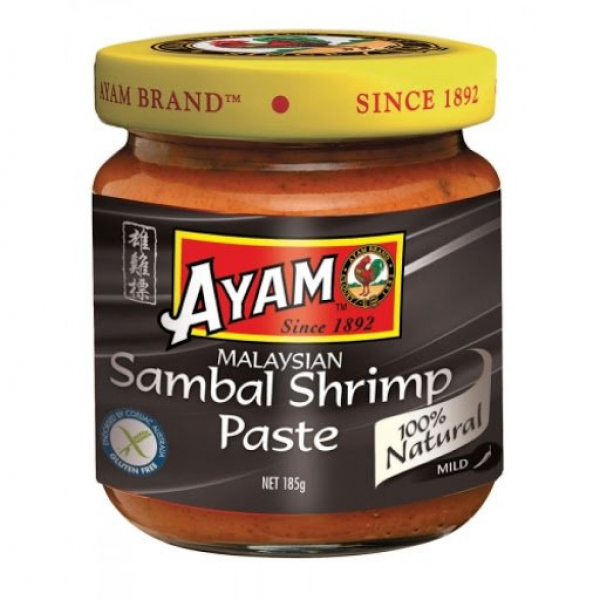 Ayam AYAM SAMBAL SHRIMP PASTE 185G