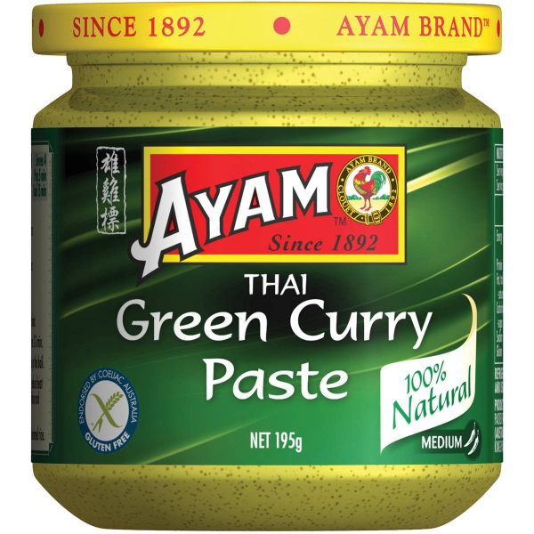 Ayam AYAM THAI GREEN CURRY PASTE 195G