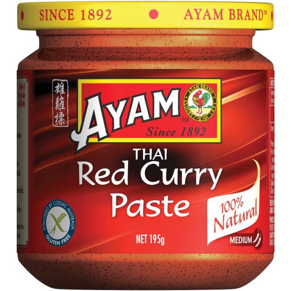 Ayam AYAM THAI RED CURRY PASTE 195G