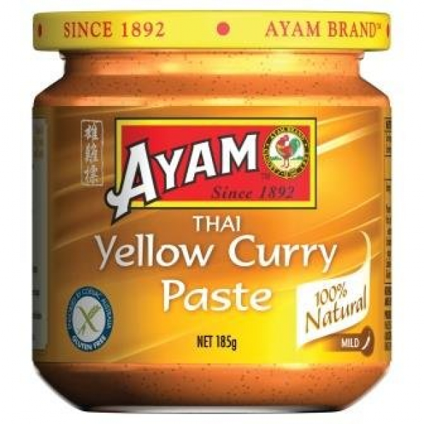 Ayam AYAM THAI YELLOW CURRY PASTE 185G