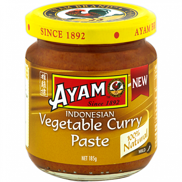 Ayam AYAM INDONESIAN VEGETABLE CURRY PASTE 185G