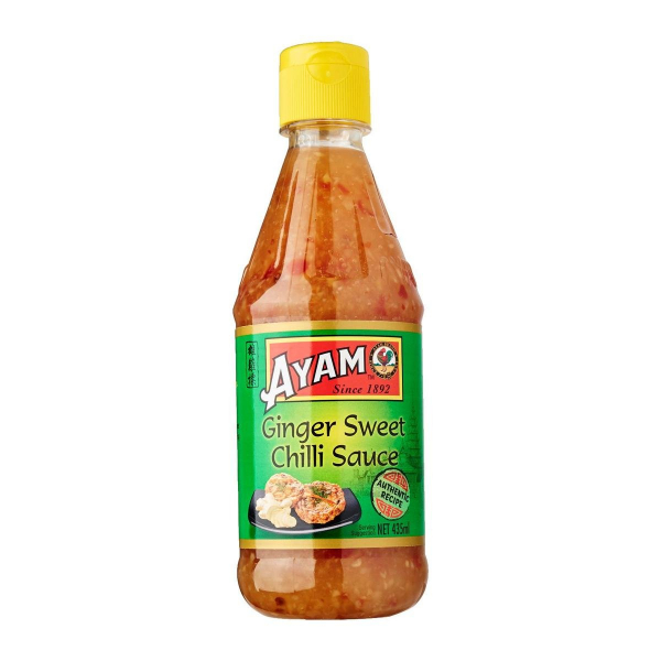 AYAM GINGER SWEET CHILLI SAUCE 435ML 09556041612913.