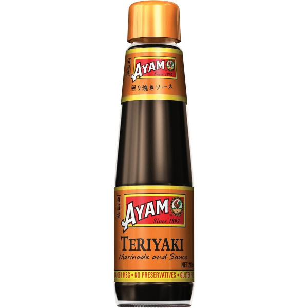 AYAM TERIYAKI SAUCE 210ML 09556041611152.