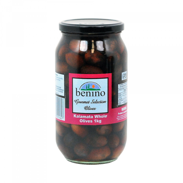 Benino BENINO KALAMATA WHOLE OLIVES 1KG