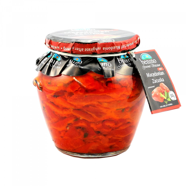 Benino BENINO MACEDONIAN ZACUSKA HOT PEPPERS 540G