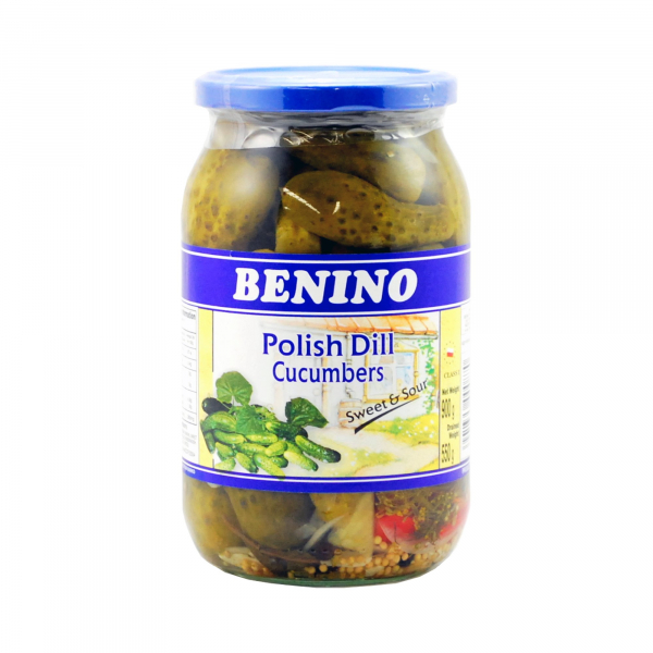 Benino BENINO POLISH CUCUMBER SWEET AND SOUR 900G