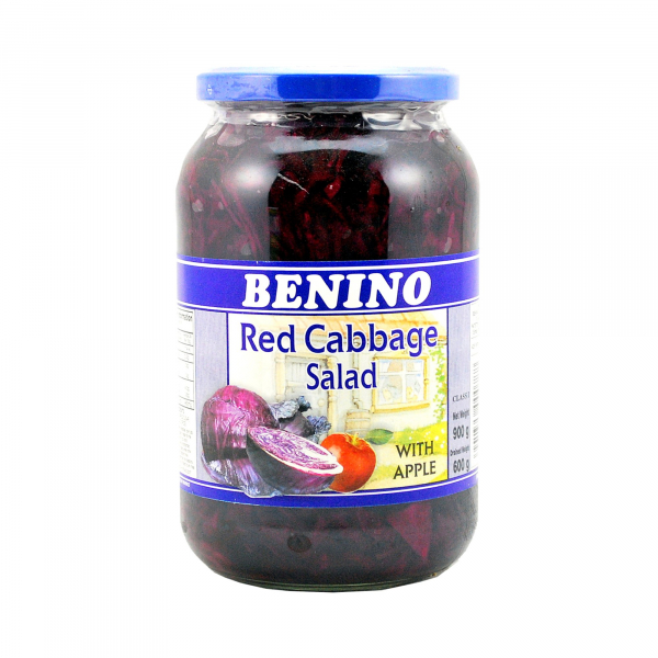 Benino BENINO RED CABBAGE SALAD 900G