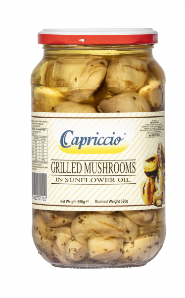 Capriccio CAPRICCIO GRILLED MUSHROOMS 550G