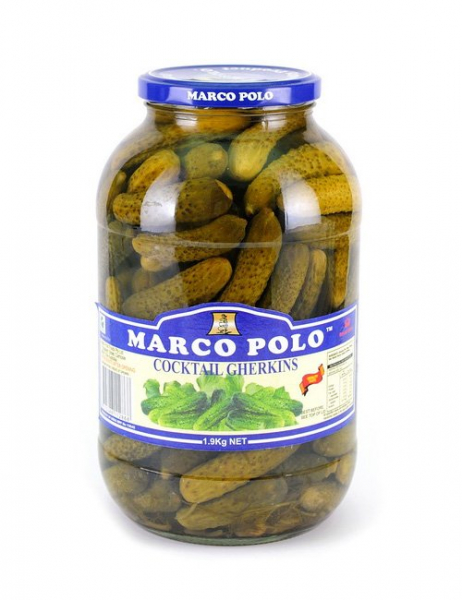 Marco Polo MARCO POLO COCKTAIL GHERKINS 1.9KG