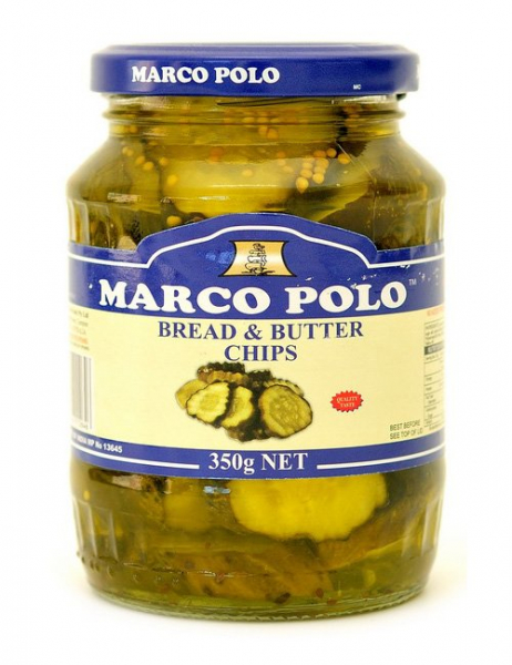 Marco Polo MARCO POLO BREAD AND BUTTER CHIPS 350G
