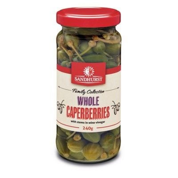 SANDHURST CAPERBERRIES 240G 09313839002895.