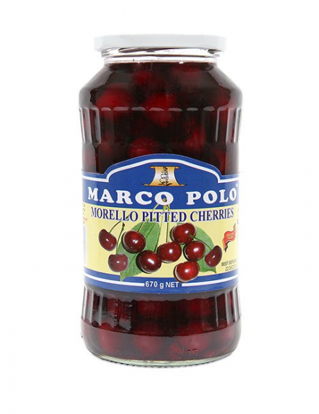 Marco Polo MARCO POLO MORELLO PITTED CHERRIES 670G