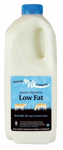 Fleurieu Milk Company FLEURIEU MILK COMPANY JERSEY LOW FAT MILK 2LT