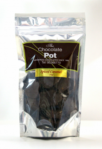 The Chocolate Pot THE CHOCOLATE POT SPICED CARAMEL CHOCOLATE 150G