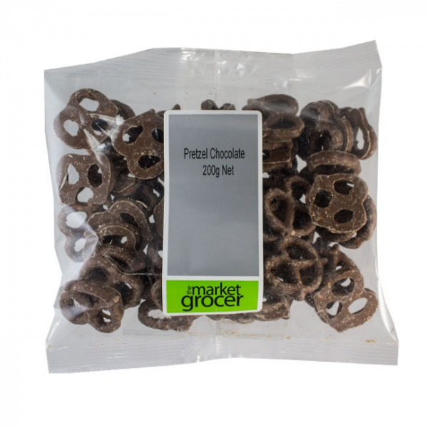 The Market Grocer CHOCOLATE PRETZEL 200G