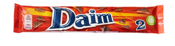 DAIM BAR 2 PACK 56G