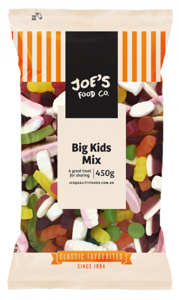 JC\'S Quality Foods JC'S BIG KIDS MIX 450G