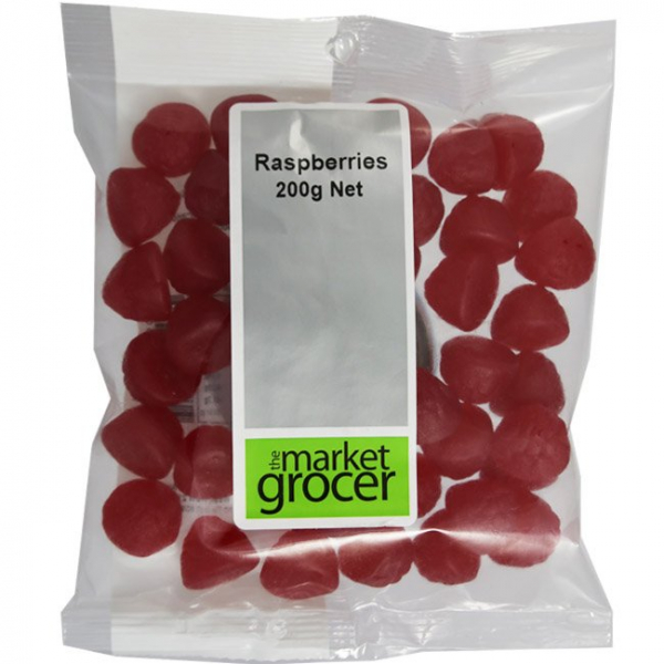 The Market Grocer THE MARKET GROCER RASPBERRIES 200G
