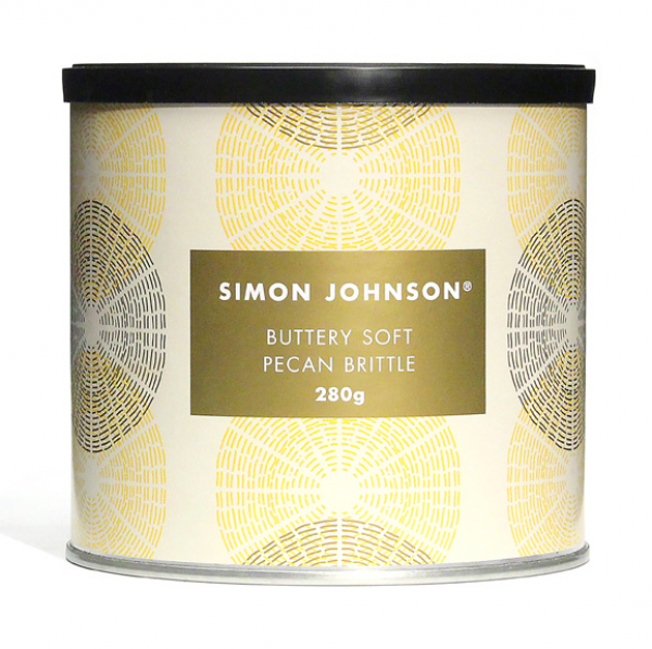 Simon Johnson SIMON JOHNSON BUTTERY PECAN BRITTLE 280G