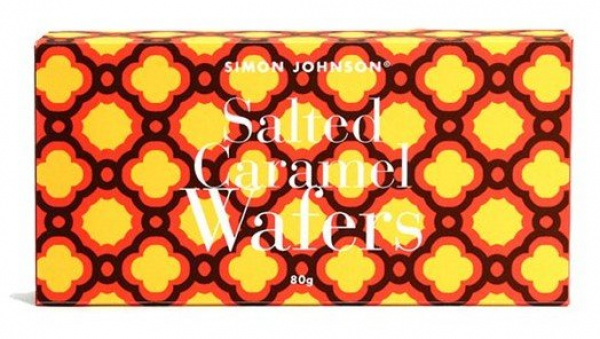 Simon Johnson SIMON JOHNSON SALTED CARAMEL WAFERS 80G