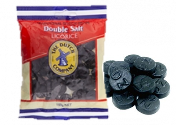 The Dutch Company THE DUCTH COMPANY DOUBLE SALTED LICORICE 100G