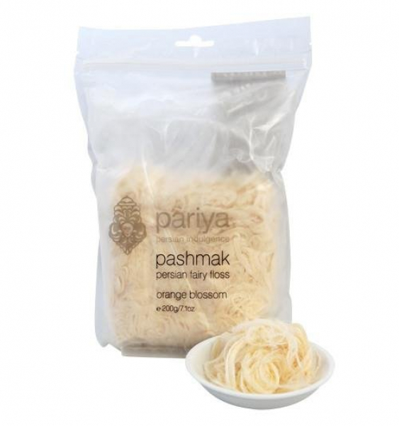 PARIYA PASHMAK ORANGE BLOSSOM PERSIAN FAIRY FLOSS 200G 00811046770495.
