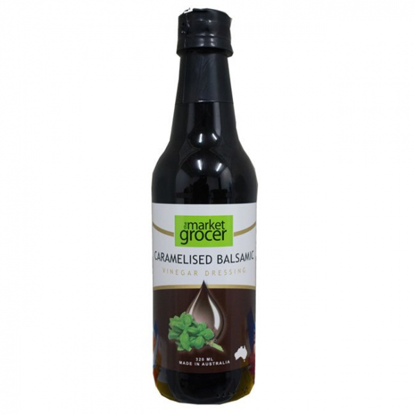The Market Grocer THE MARKET GROCER CARAMELISED BALSAMIC VINEGAR 320ML