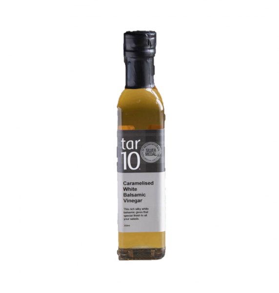 TAR10 CARAMELISED WHITE BALSAMIC 250ML 09343025000794.