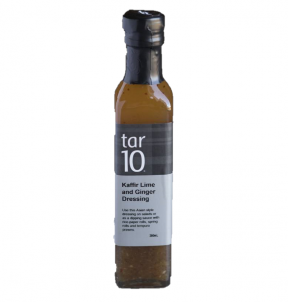 Tar10 TAR10 KAFFIR LIME & GINGER DRESSING 250ML