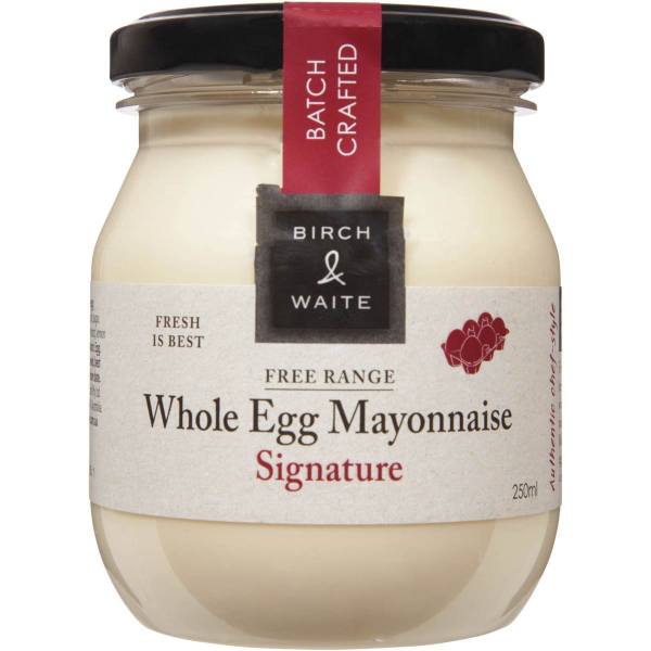 Birch & Waite BIRCH & WAITE WHOLE EGG MAYONNAISE 250ML