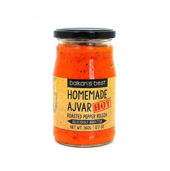 BALKAN'S BEST HOMEMADE AJVAR HOT 710G