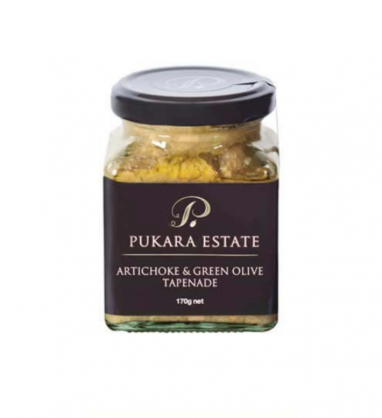 Pukara Estate PUKARA ESTATE ARTICHOKE & GREEN OLIVE TAPENADE 170G