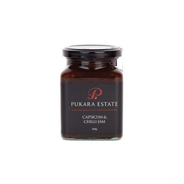 Pukara Estate PUKARA ESTATE CAPSICUM & CHILLI JAM 320G