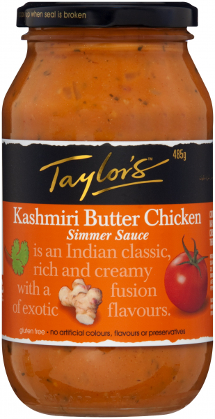 Taylors TAYLORS BUTTER CHICKEN 485G