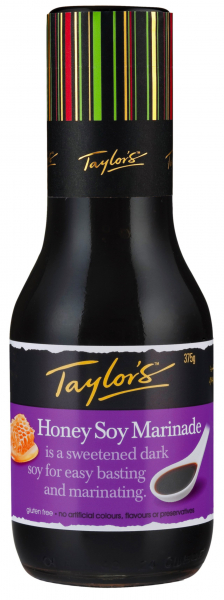 Taylors TAYLORS HONEY SOY MARINADE 375G