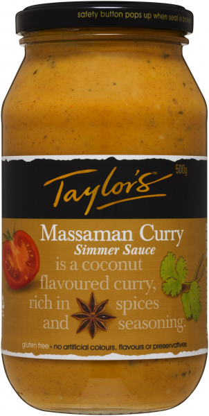 Taylors TAYLORS MASSAMAN CURRY 500G