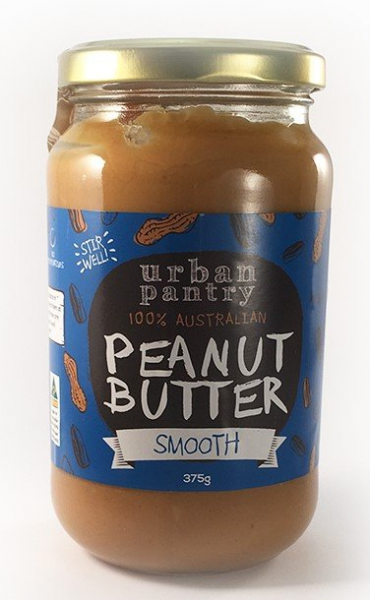Urban Pantry URBAN PANTRY PEANUT BUTTER SMOOTH 375G