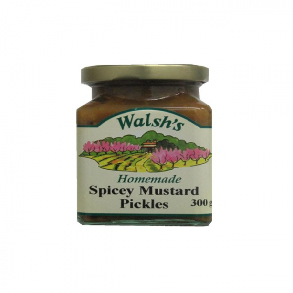 Walsh's WALSH'S SPICEY MUSTARD PICKLES 300G