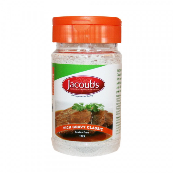 JACOUB'S RICH GRAVY MIX 180G 00799439597297.